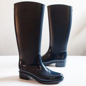 63d9068152ac8e Sam Edelman Shoes - NEW SAM EDELMAN Sydney Tall Navy Rain Boots